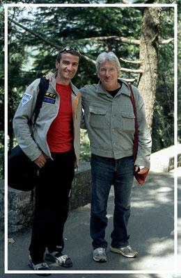 Richard Gere & Jürgen Sedlmayr   in Dharamsala