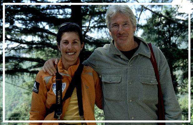 Richard Gere & Manuela & Sedlmayr   in Dharamsala