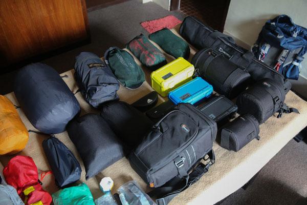 Vorbereitung Ausrüstung | Reisefotograf Jürgen Sedlmayr