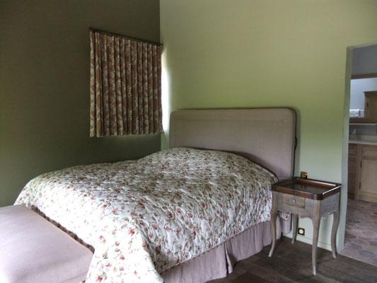 lit très confortable - 2 personnes gîte Koetshuis