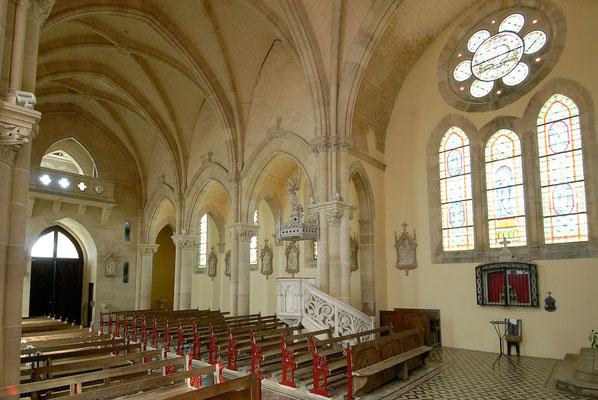 Eglise  Beaulieu-en-Argonne, Domaine Le Chatel, Argonne