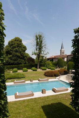 piscine gîtes domaine Le Chatel, Beaulieu-en-Argonne