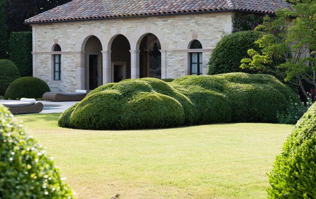 Détail jardin Domaine le Chatel, 2 gîtes près de Verdun