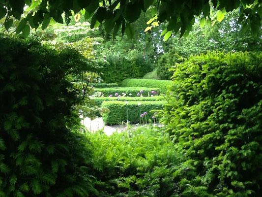 partie jardin Maison Blanche et Koetshuis, Beaulieu-en-Argonne