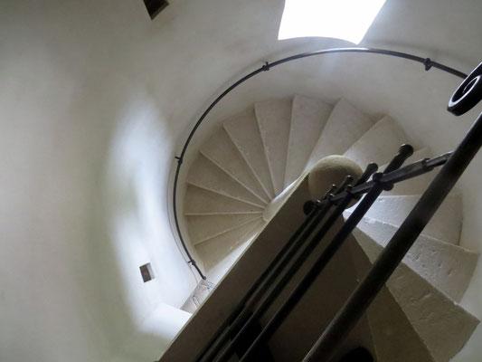 escalier gîte Koetshuis