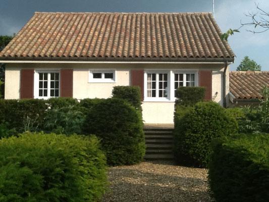 Gîte Maison Blanche , côté jardin , Beaulieu-en-Argonne , Meuse