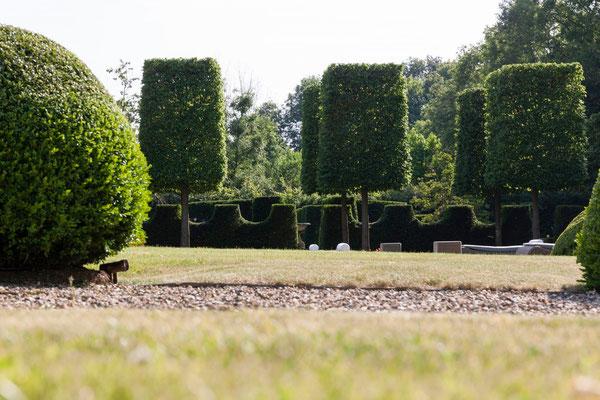 jardin Domaine Le Chatel , 2 gîtes Maison Blanche et Koetshuis, Beaulieu-en-Argonne