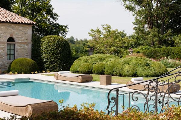 piscine domaine Le Chatel, Meuse