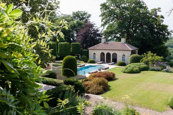 piscine , Domaine Le Chatel,gîtes, Beaulieu-en-Argonne