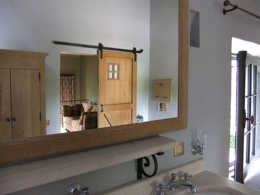 détail salle de bain gîte Koetshuis