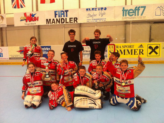 2014 - Red Dragons U13 werden öster. Meister