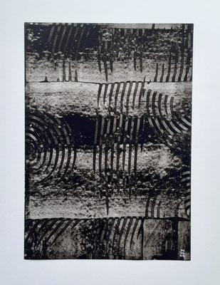 """Reglet"", acrilico su carta Yupo 85 g/mq, cm. 29,7 x 42 – € 250"
