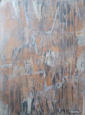 """Abstract 101020"", tecnica mista su carta, cm. 30 x 40 – € 60"