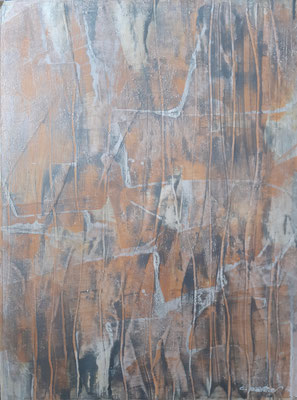 """Abstract 101020"", tecnica mista su carta, cm. 30 x 40 – € 150"