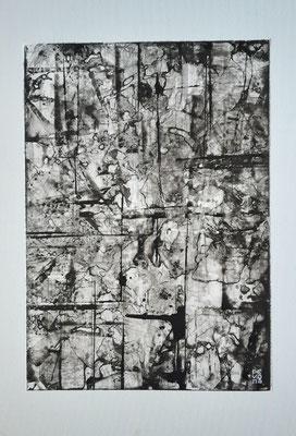 """""""Considerations"""", acrilico su carta Yupo 85 g/mq, cm. 29,7 x 42 – € 250"""