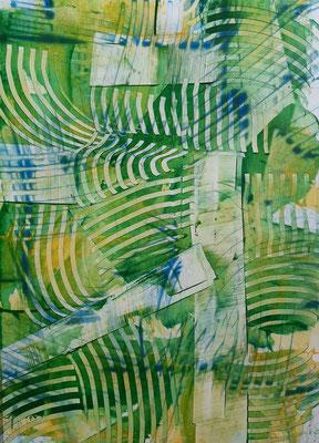 """""""In the forest"""", acrilico su tela, cm. 29,7 x 42 – € 130"""