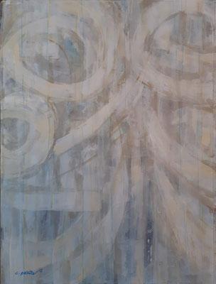 """Lyrical abstract 2"" – tecnica mista su carta, cm. 30 x 40 - € 150"