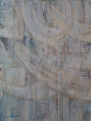 """Lyrical abstract 1"" – tecnica mista su carta, cm. 30 x 40 - € 150"