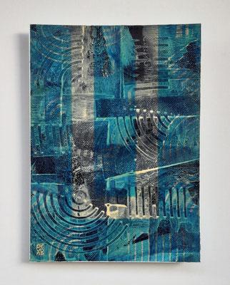 """""""Inversion"""", tecnica mista su carta Arches, cm. 26 x 36 – € 250"""