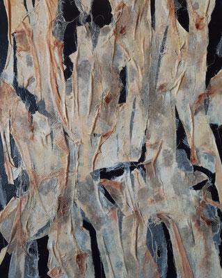 """""""Il testamento degli innocenti"""", tecnica mista su tela, cm. 40 x 50 - Massa, collezione privata"""