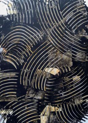 """""""Almost monochrome"""", acrilico su carta, cm. 29,7 x 42 – € 250"""