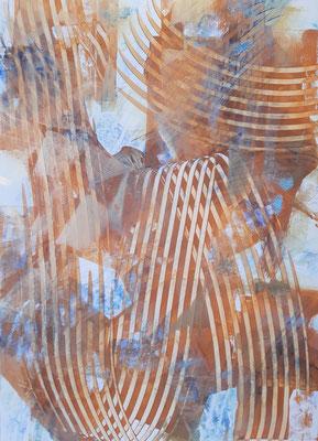 """""""Il trionfo della Verità"""", tecnica mista su carta Yupo, cm. 29,7 x 42 – € 120"""
