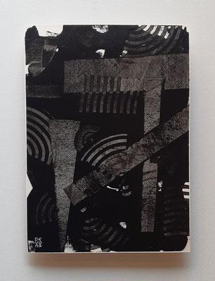"""Buildings"", acrilico su carta Arches, cm. 26 x 36 – € 250"