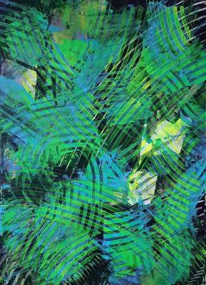 """Modern life"", tecnica mista su carta Yupo, cm. 29,7 x 42 – € 70"