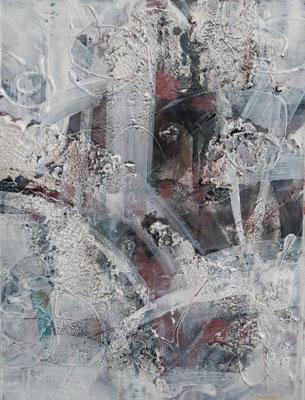 """Abstract"", tecnica mista su carta, cm. 30 x 40 - € 200"