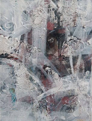 """Abstract"", tecnica mista su carta, cm. 30 x 40 - € 70"