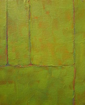 """""""Piccolo giardino"""", tecnica mista su tela, cm. 20 x 25 - Lovere (BG), collezione privata"""