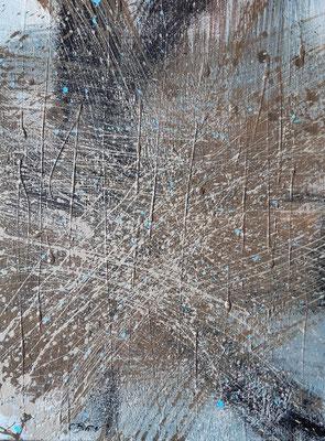 """""""Fu solo un pretesto"""", tecnica mista su tela, cm. 30 x 40 – € 250"""