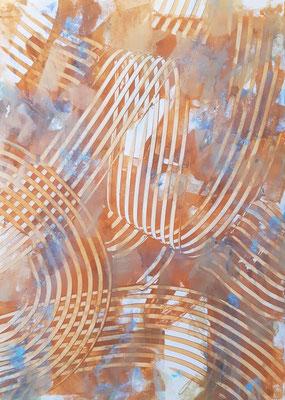 """""""Incoraggiamento"""", tecnica mista su carta Yupo, cm. 29,7 x 42 – € 250"""