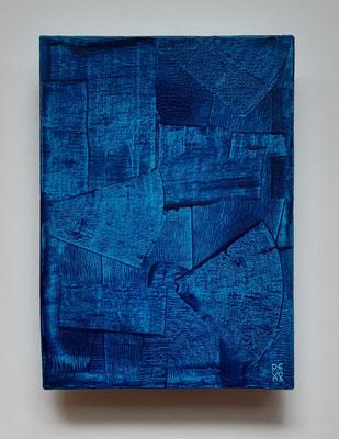 """""""The first time i saw the sea..."""", acrilico su tela, cm. 25,5 x 35 - € 260"""