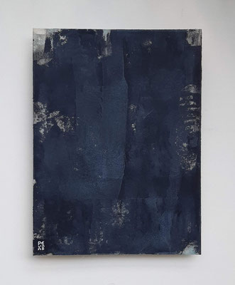 """The Dawn will return"", tecnica mista su carta Hahnemühle 600 g/mq, cm. 30 x 40 - € 250"