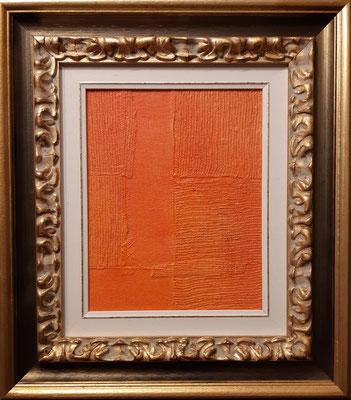 """""""Piccolo astratto (Ascensione) - tecnica mista su tavola, cm. 20 x 25 - Bloemendaal (Paesi Bassi), collezione privata"""
