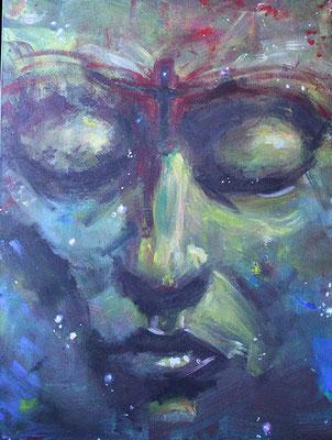 Sternentänzer-gesicht-portrait-malerei-space-nebula-weltall-sterne