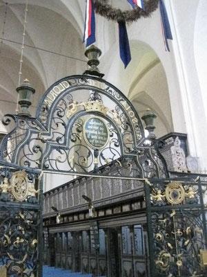 ein Blick in die Klosterkirche, hier finden regelmäßig Führungen statt