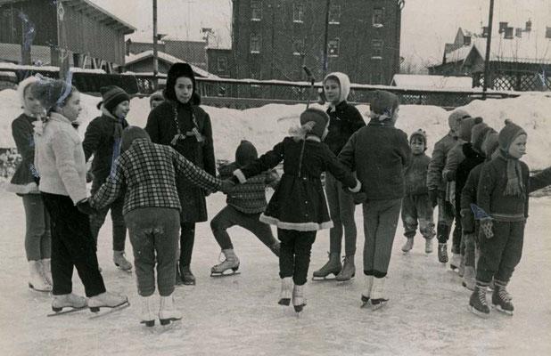 Учитесь танцевать на льду