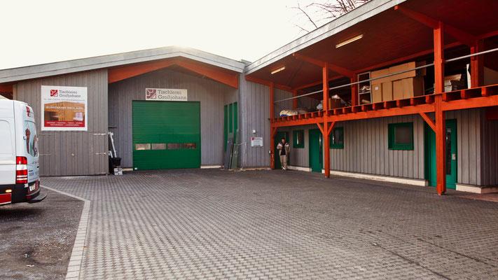 Tischlerei Großjohann, Mülheim an der Ruhr, Werkstatt
