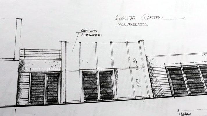 Tischlerei Großjohann, Wintergarten Planung