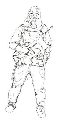 Tusche auf Papier A4 2010