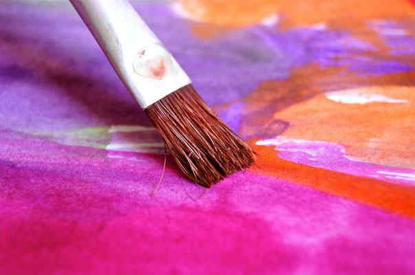 Kreativitätstraining, Kunstselbsterfahrung, Kunsttherapie, Kreatives Schaffen als Selbsterfahrung