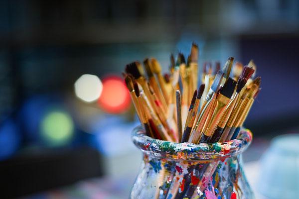 Kreativität als Selbsterfahrung, Maltherapie, Innere Prozesse künstlerisch erfahrbar machen