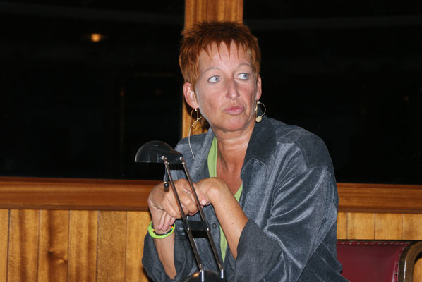 Eva Rossmann / Lesung auf der Hohentwiel 2012