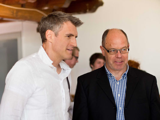 Thomas Raab und Peter Natter / Kriminacht 2014