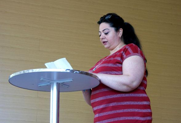 Nour Kayali / Literaturbrunch 2016