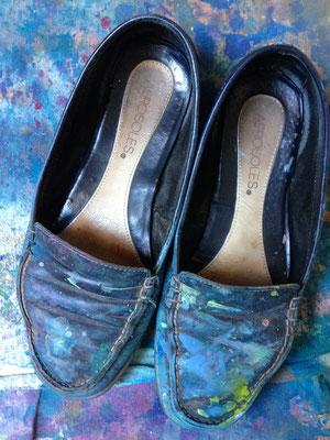Les chaussures du peintre