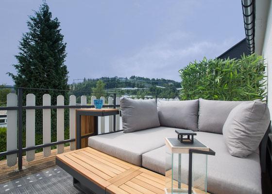 Lounge mit Fernsicht
