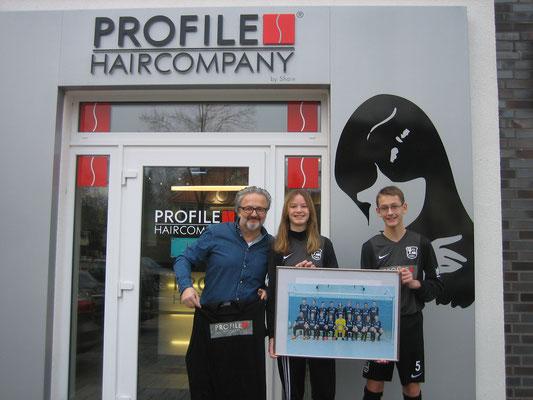 Dankeschön an Shain Gezgin von Firma Profile Haircompany